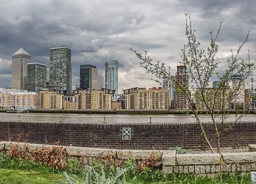 20160413_Southwark_Surrey-Docks-Farm_Canary-Wharf-from-garden