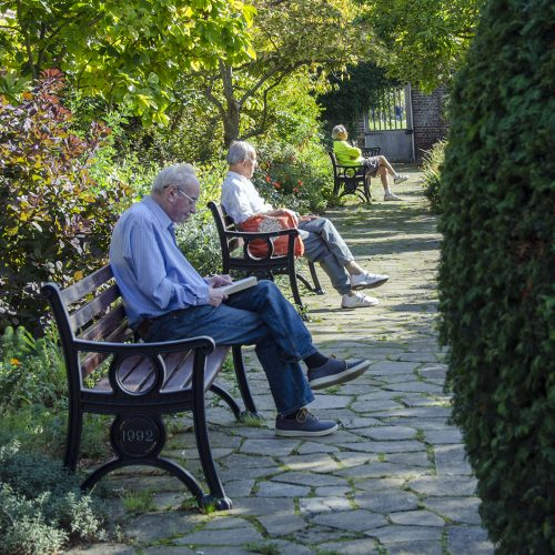 2016-10-11-Lambeth_Brockwell-Park_Autumn_People-A-sheltered-spot