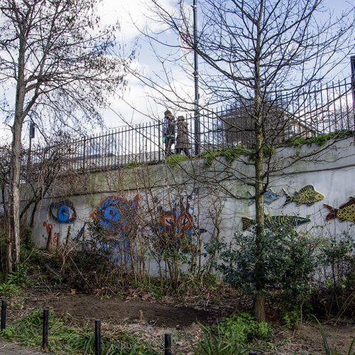 20170307_Islington_Thornhill-Bridge-Community-Gardens_Animals-created-by-children