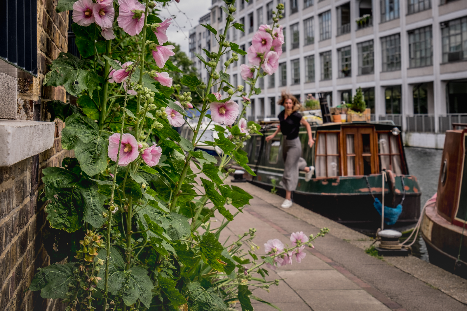 20160708_Islington_Regents-Canal_Running-on-the-Towpath