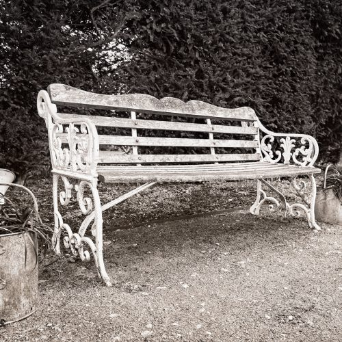 20170301_Enfield_Myddelton-House-Gardens_Bench-Watering-Cans