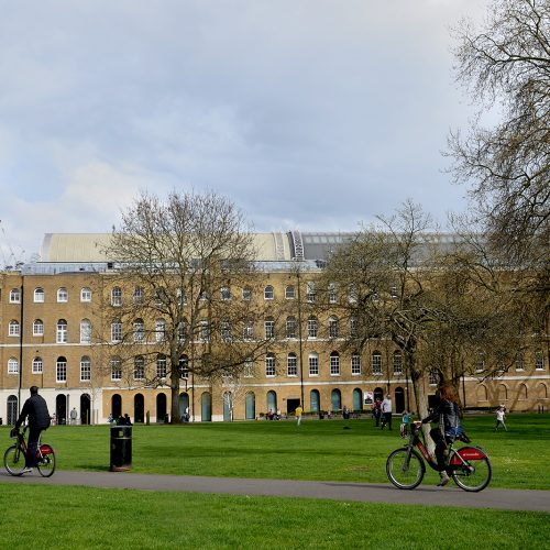 20170401_Southwark_Kennington-Road_The-park-by-Imperial-war-museum
