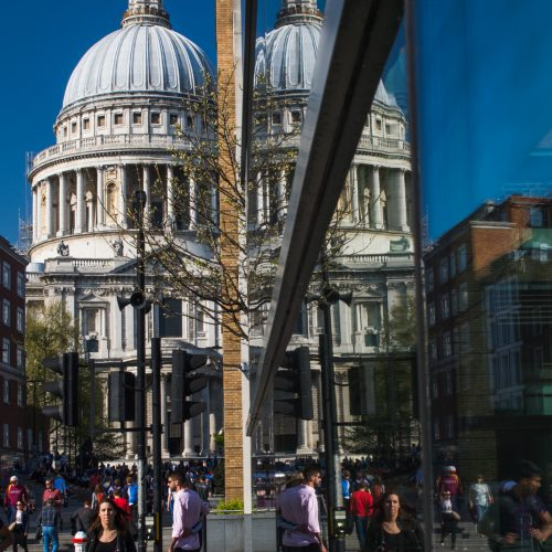 20170408_CityofLondon_StPauls_reflections