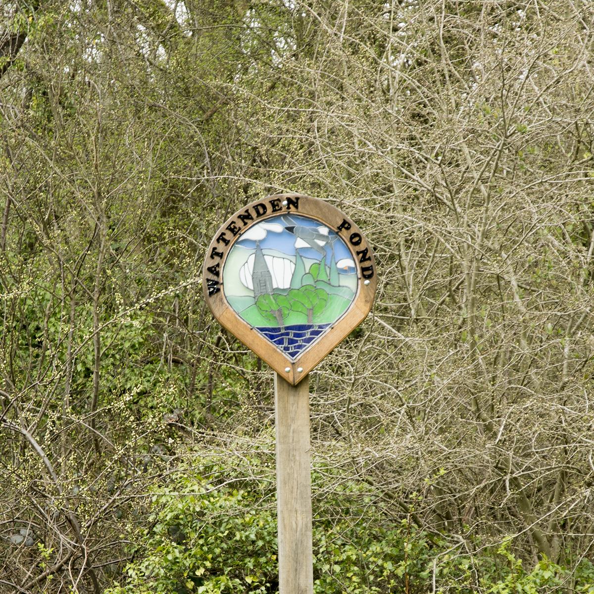 20170323_Croydon_Wattenden-Pond_Landscape_Winter_Wattenden-Pond-Sign