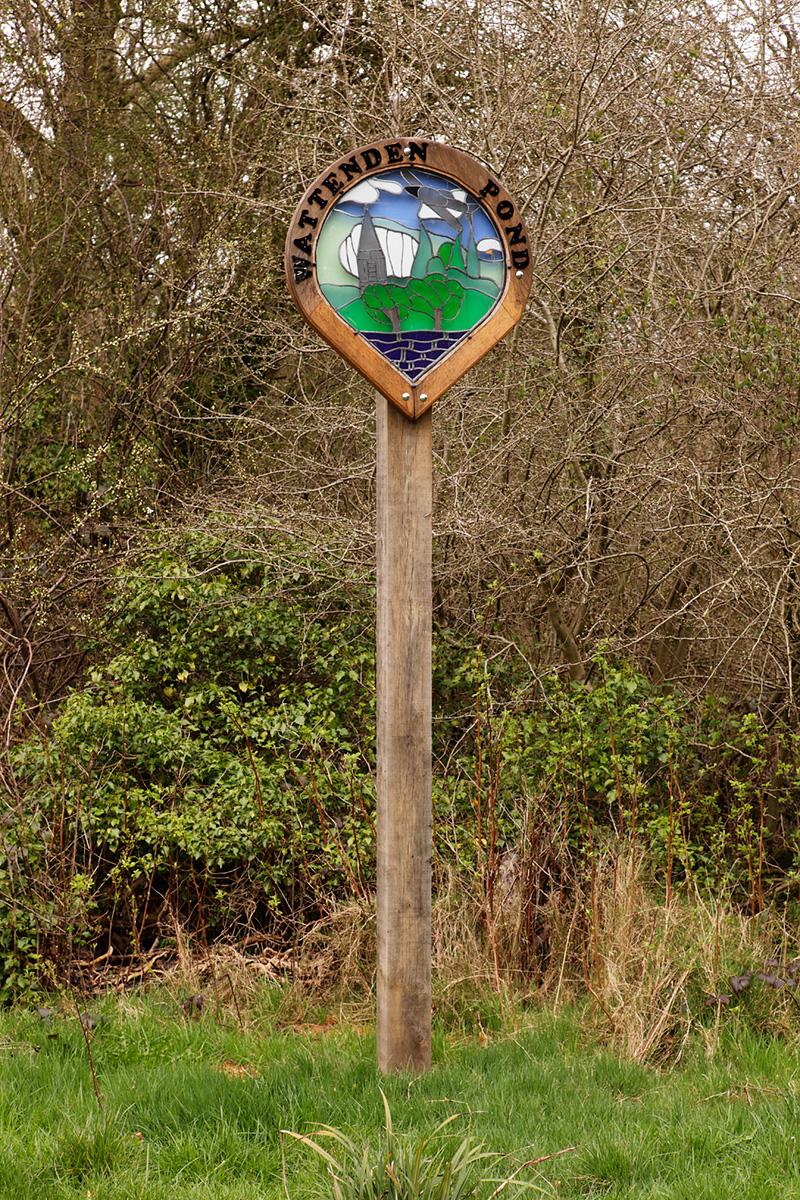 20170323_Croydon_Wattenden-Pond_Sign
